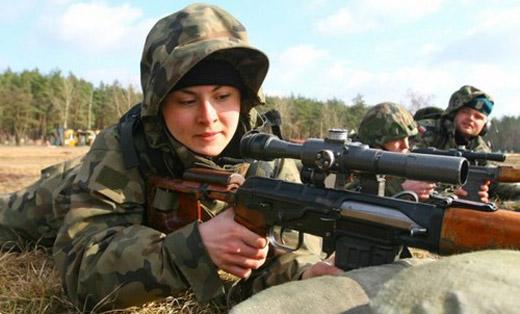 عکس های زیباترین سربازان زن کشورهای مختلف