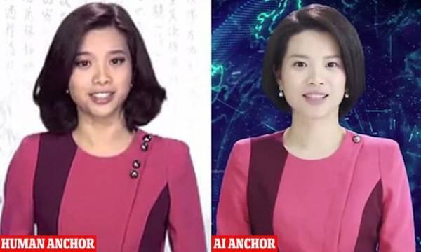عجیب ترین مجری زن چینی که تا بحال ندیده بودید (عکس)
