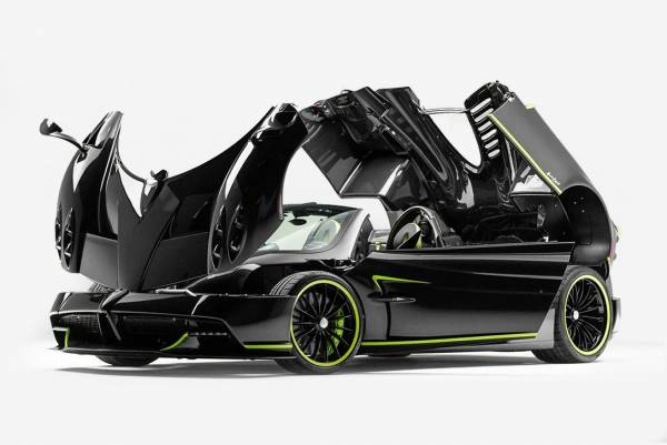 رونمایی از مدل جدید پاگانی هوایرا رودستر 2019 (عکس)