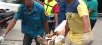 مرگ این مرد جوان بر اثر برق گرفتگی با گوشی (عکس)