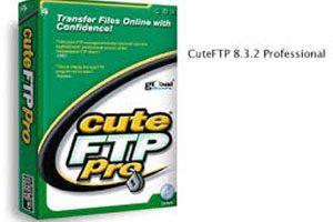 نرم افزار حرفه ای کار با سرویس FTP در CuteFTP 8.3.2 Professional + کرک