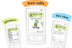 نرم افزار Fring مکالمه رایگان و گفتگو برای S60v3