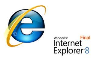 نسخه نهایی مرورگر مایکروسافت Internet Explorer v8.0 fina