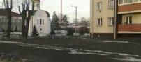 سیاه پوش شدن روسیه با بارش برف سیاه (عکس)