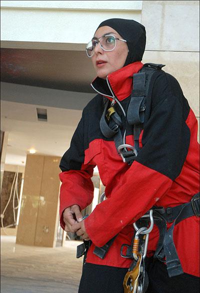 این زن ایرانی به عنوان زن عنکبوتی لقب گرفت (عکس)