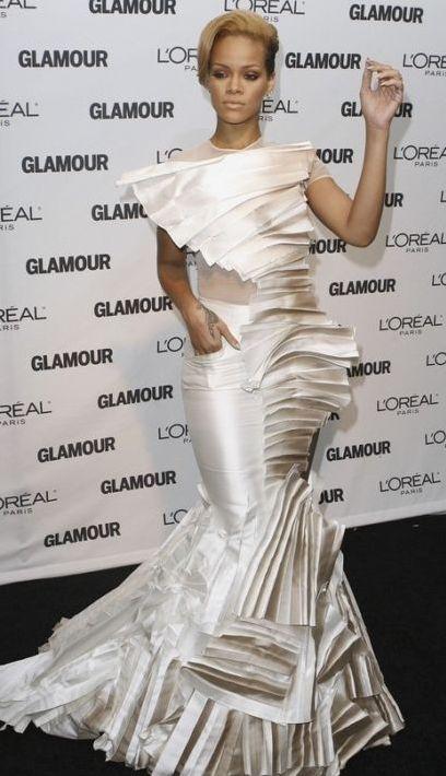 عکسهای ریحانا زن سال 2009 مجله گلامور
