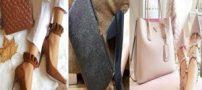 شیک ترین و جدیدترین ست کیف و کفش سال 1398