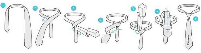 آموزش گام به گام روش های بستن گره کراوات