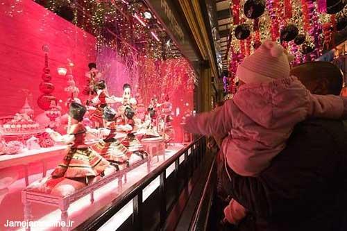 عکسهایی از ویترین فروشگاههای پاریس !