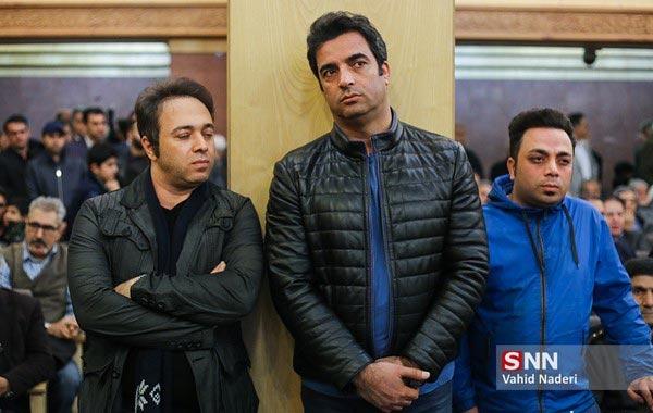 عکس هایی از حضور هنرمندان در مراسم هفت خشایار الوند