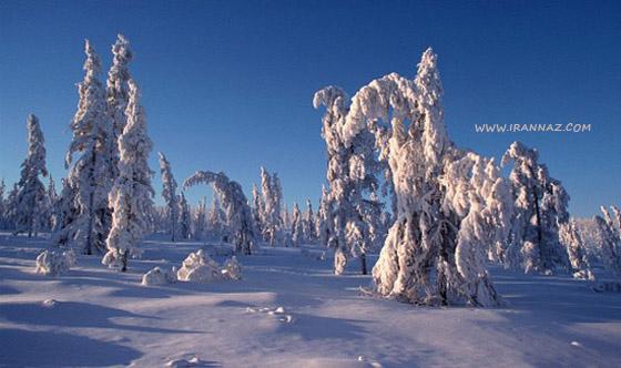 خواندنی در مورد سردترین مناطق جهان (عکس)