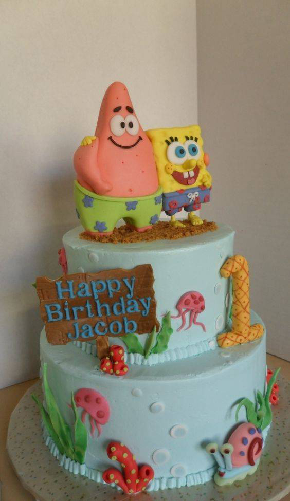 مدل های جدید و فان کیک تولد مخصوص کودکان