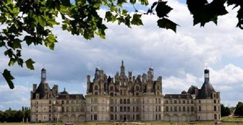 سفری حیرت انگیز به قلعه شامبوغ در فرانسه+ تصاویر