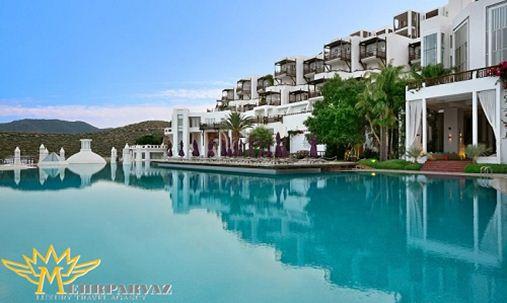 بهترین هتل هایی که در ترکیه می توانید در آنها اقامت داشته باشید