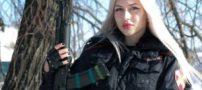 انتخاب جذاب ترین زن نظامی روسیه (عکس)