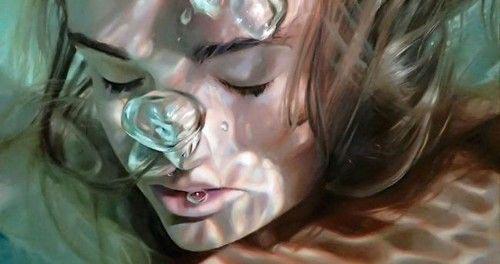 عکس هایی دیدنی و جذاب از دختران زیر آب