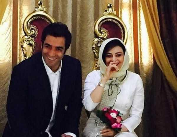 ازدواج یکتا ناصر با کارگردان سریال عاشقانه (عکس)