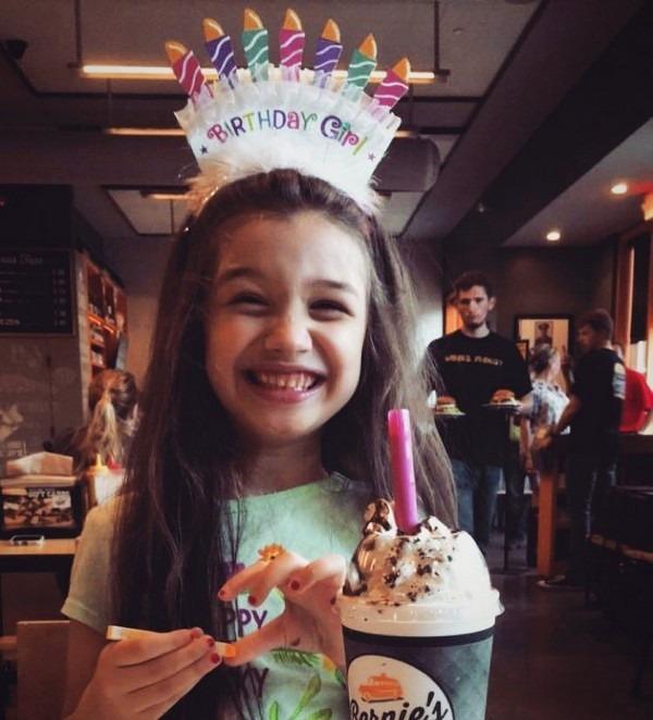 عکس هایی از تولد 8 سالگی بارانا دختر بنیامین بهادری