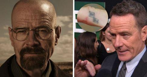 این بازیگران نماد فیلمشان را روی بدن تتو کردند (عکس)