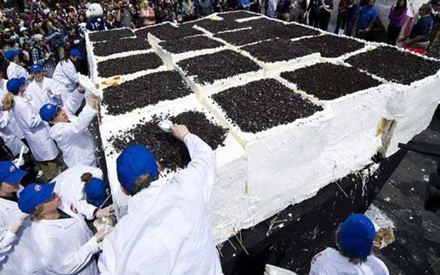 غذاهای غول پیکر که رکورددار گینس است (عکس)