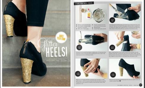 ایده های بسیار جالب برای تزیین کفش های مجلسی