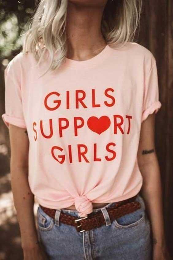 زیباترین مدلهای تیشرت دخترانه 2019