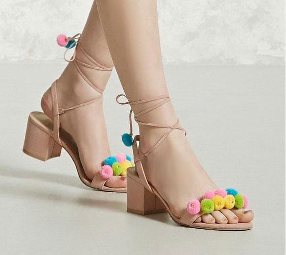 زیباترین مدلهای کفش و صندل پاشنه بلند تابستانی