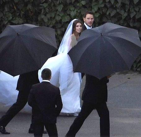 ازدواج دختر آرنولد با بازیگر مشهور (عکس)