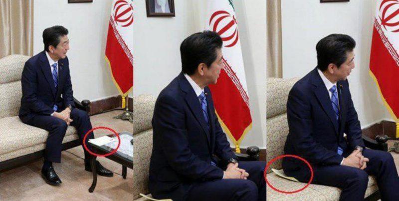 برخورد رهبر با نامه ترامپ و شینزو آیه رئیس جمهور ژاپن (عکس)