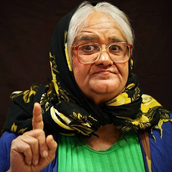 ماجرای گریم زنانه اکبر عبدی و بازیگر آمریکایی (عکس)