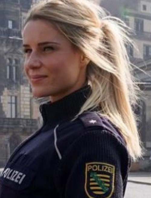 این زن زیباترین پلیس آلمان است ( تصاویر )