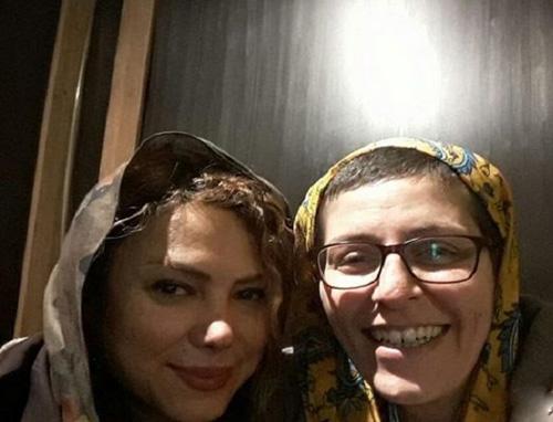بازیگر زن ایرانی بخاطر شراره درشتی سرش را تراشید (عکس)
