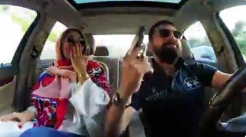 زندان عاقبت ویدئوی مسلحانه محسن افشانی (عکس)