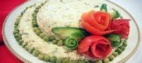 زیباترین مدلهای تزئین سالاد الویه مجلسی