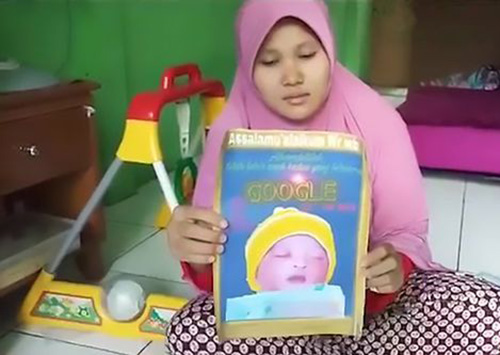 عجیب ترین نام دنیا که برای این نوزاد انتخاب شد (عکس)