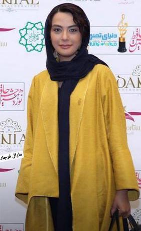 مدل مانتوی بازیگران در جشن حافظ