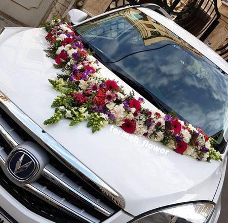 شیک ترین و جدیدترین مدل ماشین عروس