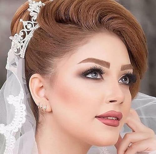 زیباترین مدلهای جدید آرایش عروس 2019