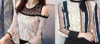 شیک ترین مدلهای شومیز و لباس زنانه مد سال