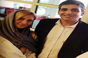 حمید گودرزی و همسر دومش در جشن حافظ (عکس)