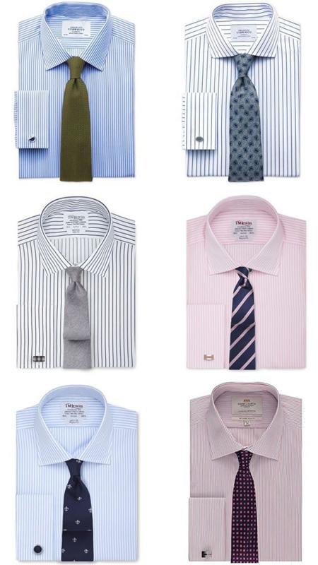 مدلهای ست کردن کراوات با مدل و رنگ پیراهن