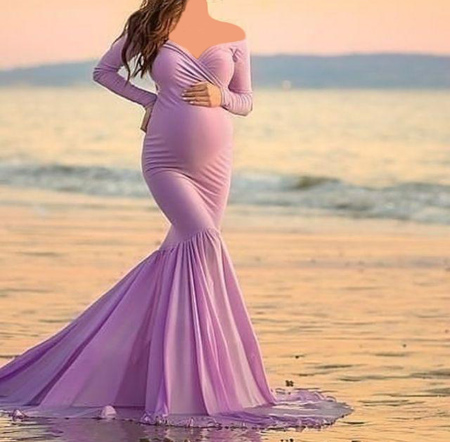 شیک ترین مدل های لباس بارداری مجلسی (عکس)