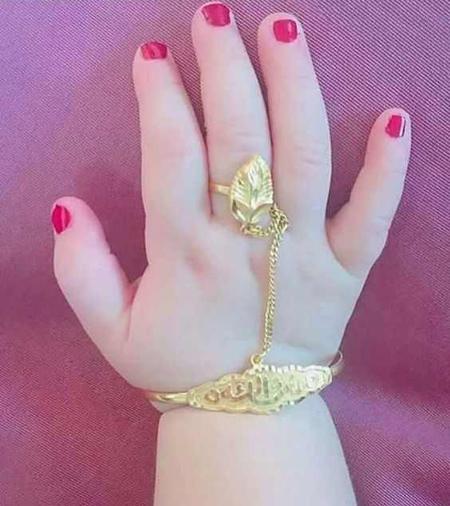 شیک ترین مدلهای طلا و دستبند انگشتری بچگانه