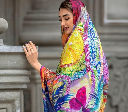جدیدترین مدلهای روسری دخترانه