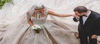 گرانترین لباس عروس که دوختنش 700 ساعت طول کشید (عکس)