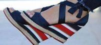 شیک ترین مدلهای کفش لژدار دخترانه