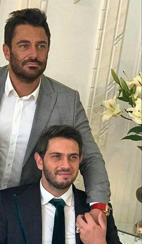 عکس و فیلم محمدرضا گلزار در جشن عقد برادرش