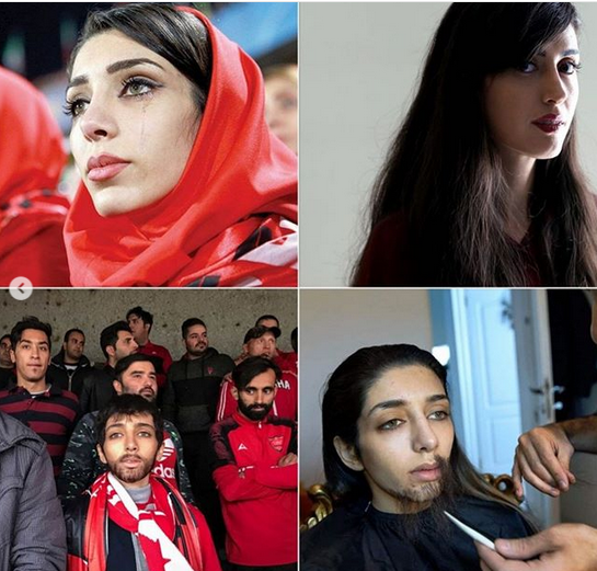 دختران پرسپولیسی به زندان افتادند (عکس)