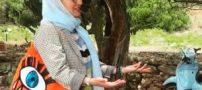 عکس مهناز افشار در سال ١٨٣٥ میلادی