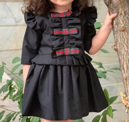 جدیدترین مدل لباس مشکی دخترانه و پسزانه